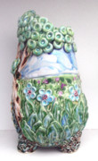 Purple Ceramics - Field Vase by Renee Kilburn