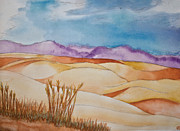 Drawing Painting Originals - Fields by Cassandra Ronning