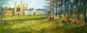 Fields In Spring Print by K M Pawelec