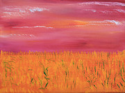 Prairie Paintings - Fields of Gold by James Bryron Love