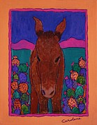 Carolene Of Taos - Fiesta Burro