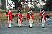 Williamsburg Prints - Fifes and Drums Print by Sally Weigand