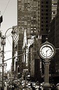 Midtown Posters - Fifth Avenue Poster by RicardMN Photography