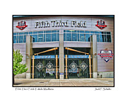Baseball Field Framed Prints - Fifth Third Field Toledo Mudhens Framed Print by Jack Schultz