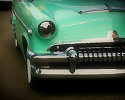 Paint Photograph Prints - Fifties Ride Print by Perry Webster