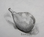 Figs Prints - Fig Print by Jan Bennicoff