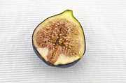 Food And Beverage Prints - Fig Print by Joana Kruse