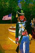 Soldier Paintings - Fight for His Country by Deborah MacQuarrie
