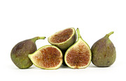 Foodstuffs Prints - Figs Print by Bernard Jaubert