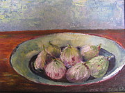Figs Framed Prints - Figs In Summer Framed Print by Sarie Eksteen