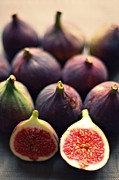 Healthy Eating Art - Figs by Photo by Ira Heuvelman-Dobrolyubova