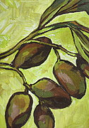 Food And Beverage Originals - Figs by Sandy Tracey