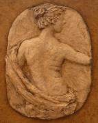 Clay Reliefs Originals - Figure Back by Sharon Dixon