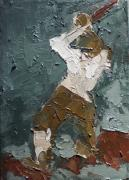Hammer Paintings - Figure Composition 8 by Casey Heyen