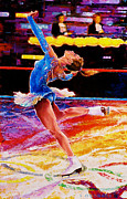 Figure Skating Paintings - Figure Skater by Sean OConnor