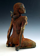 Figure Sculpture Ceramics Prints - Figure Study Two Print by Alejandro Sanchez