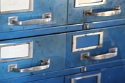 File Drawers Prints - File Drawers Print by Heidi Peterson