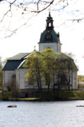 Watch Tower Prints - Filipstad Kyrkan Sweden Print by Dagmar Ceki