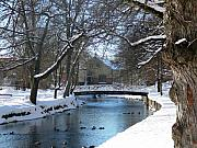 Sweden Prints - Filipstad WinterScene Print by Dagmar Ceki