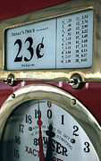 Gauges Acrylic Prints - Filler Up Acrylic Print by Steven Milner