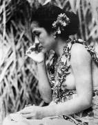 Islander Framed Prints - Film: Moana, 1926 Framed Print by Granger
