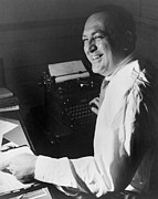 Typewriters Photos - Film Producer Val Lewton 1904-1951 by Everett