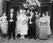 Weddings Prints - Film Still: By Golly, 1920 Print by Granger
