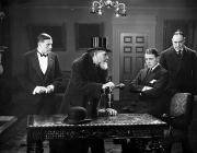 Overcoat Framed Prints - Film Still: Men Group Framed Print by Granger