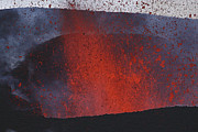 Outburst Prints - Fimmvrduhals Eruption, Lava Print by Martin Rietze