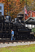 Wv Locomotive Photos - Final Check by Steve Harrington