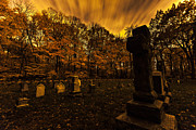 Head Stones Prints - Final Destination Print by CJ Schmit