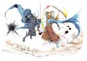 Final Drawings - Final Fantasy Dissidia by Dominic