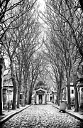 Paris Cemetery Art Framed Prints - Final Walk Framed Print by John Rizzuto