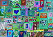 Prudent Framed Prints - find Ur love found v10 Framed Print by Kenneth James