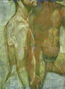 Nude Couple Pastels - Finding a new voice by Jeffrey Morin