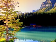 Lake Louise Photos - Finding Inner Peace by Karen Wiles