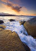Tasmania Prints - Finding the Seams Print by Mike  Dawson