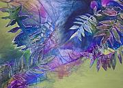 Plants Mixed Media Framed Prints - Finding the Self Framed Print by Vijay Sharon Govender
