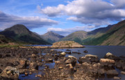 Gable Framed Prints - Fine Evening at Wastwater Framed Print by John Perriment