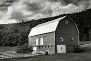 Farming Framed Prints Posters - Finger Lakes Barn I Poster by Steven Ainsworth