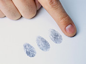 Accused Photos - Fingerprints by Lawrence Lawry
