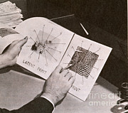 Analyze Prints - Fingerprints Print by Photo Researchers