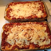 Homemade Posters - Finished #homemade #lasagna Poster by Tiffany Spooner