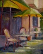 Bistro Paintings - Finished by Wendie Thompson