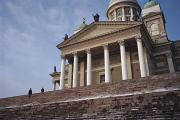 Neo-classical Framed Prints - Finland, Helsinki, Lutheran Cathedral Framed Print by Keenpress