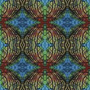Repeat Patterns Digital Art Posters - Finz  Poster by Sue Duda