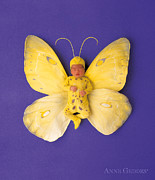 Fiona Butterfly Print by Anne Geddes