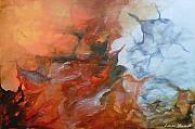 Licensed Paintings - Fire and Ice by Laura Sherrill