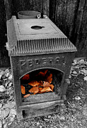 Fire Box Print by Steven Milner