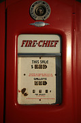 Cheif Prints - Fire-Chief Red Print by Timothy Johnson